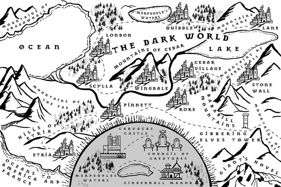 The Dark World Map