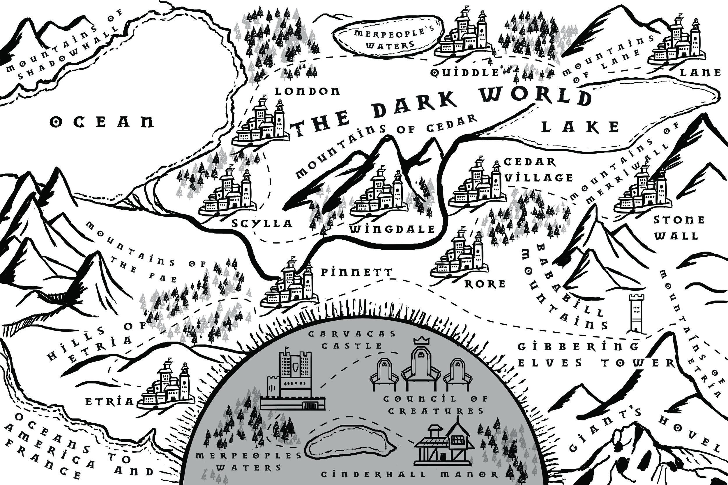 Map of The Dark World