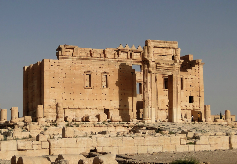 2010 picture of the Temple of Bel in Palmyra, which was destroyed August 2015 by ISIS:   http://3dprint.com/92473/million-image-database-project/    http://www.archdaily.com/772902/harvard-and-oxford-take-on-isis-with-digital-preservation-campaign    http://digitalarchaeology.org.uk/projects/