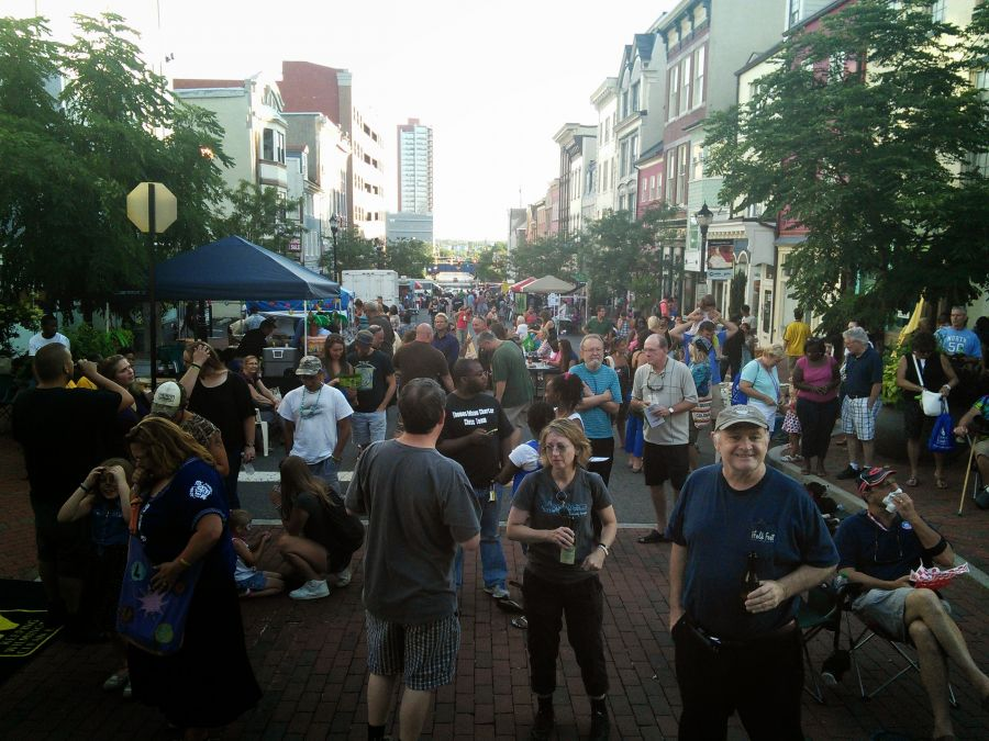 Market Street block party