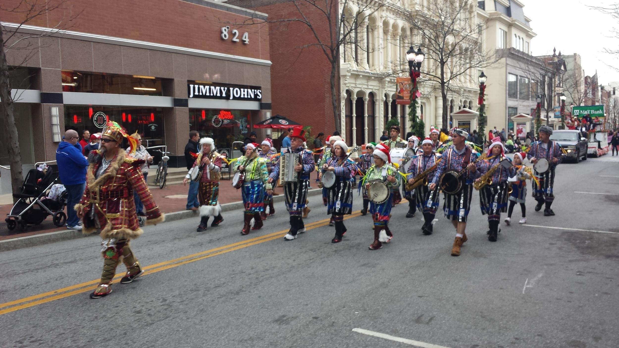 parade Nov 28, 2015 Mummers