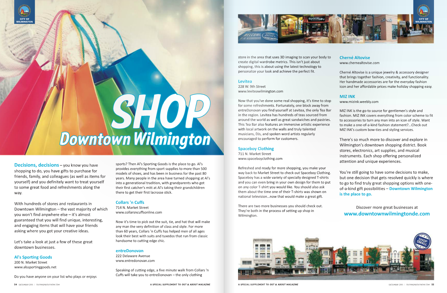 Out & About Shopping Guide