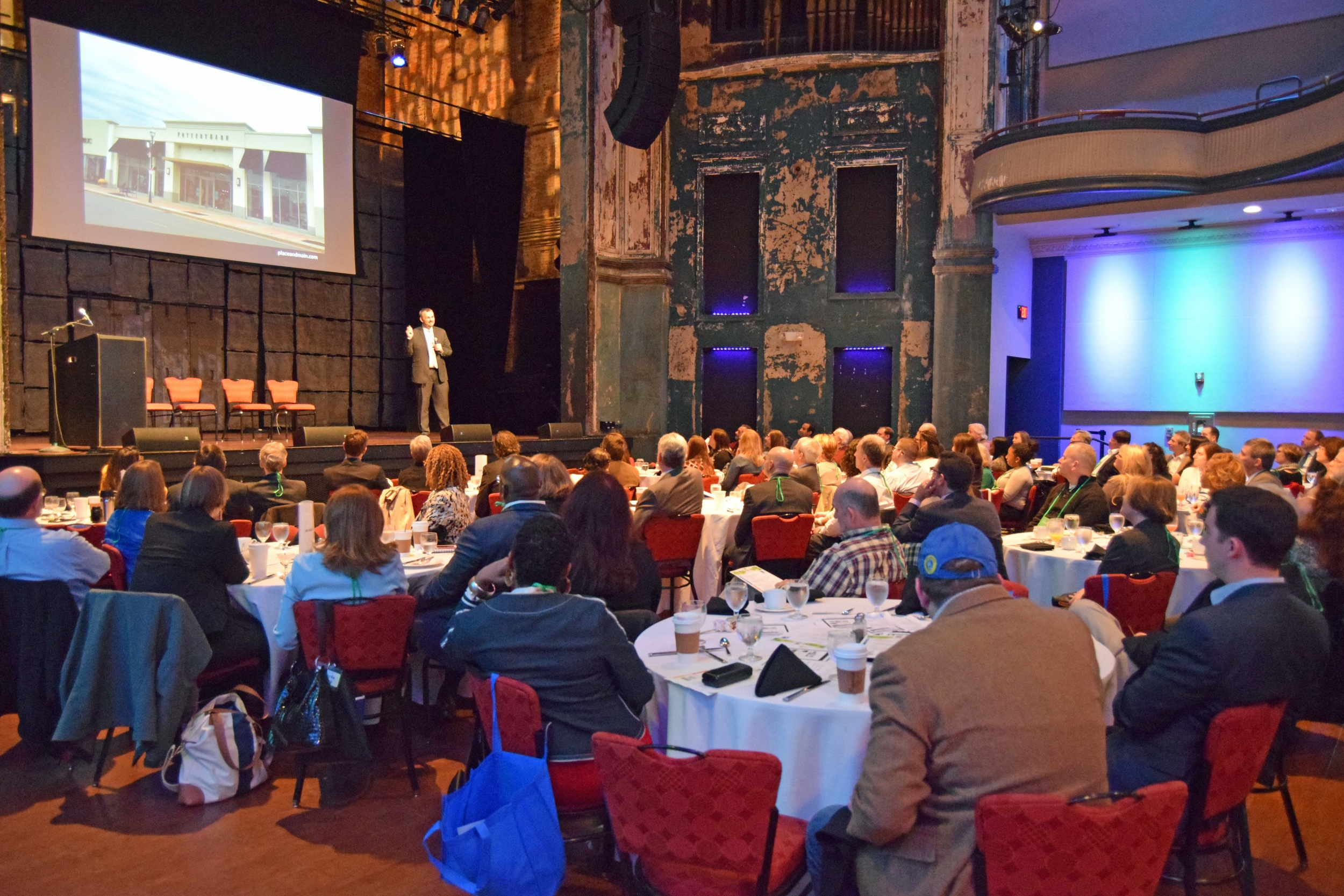 Revitalize Conference at World Cafe Live at the Queen - photo by Jeff Stone