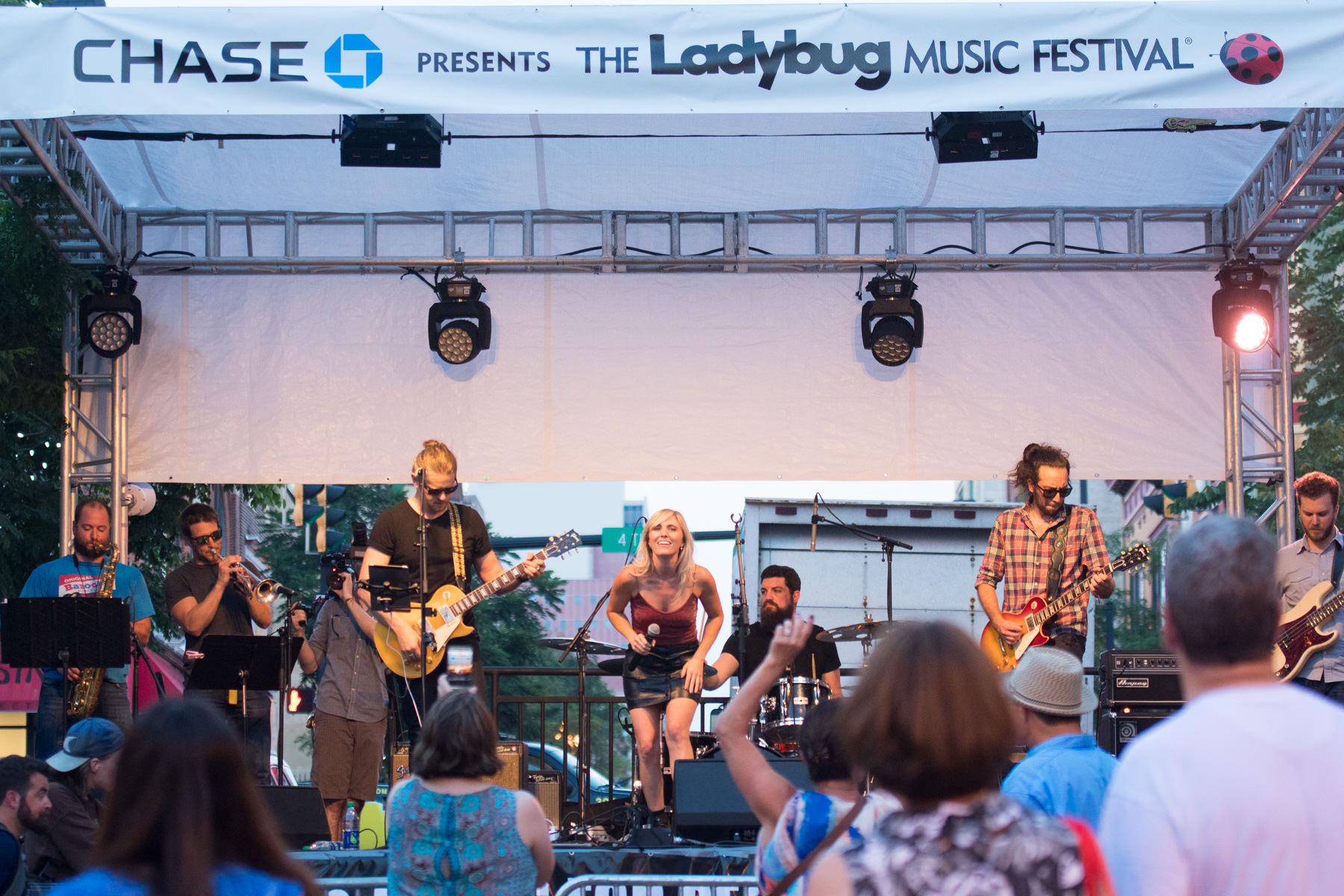 Ladybug music festival 2017 Wilmington DE