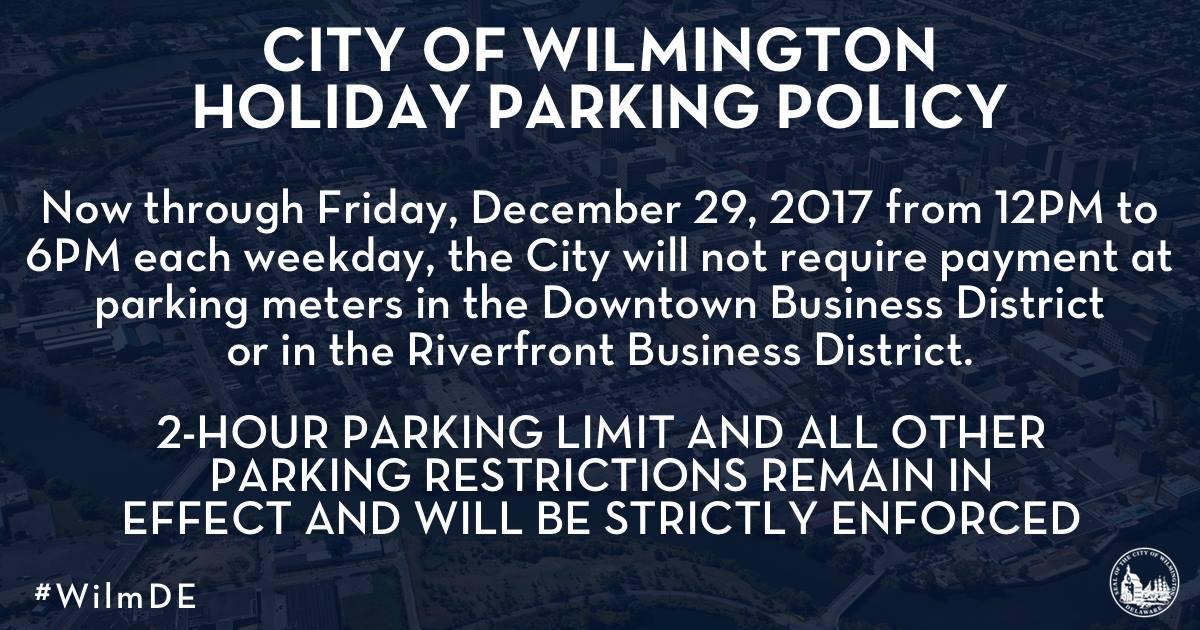 City of Wilmington Parking Regulations