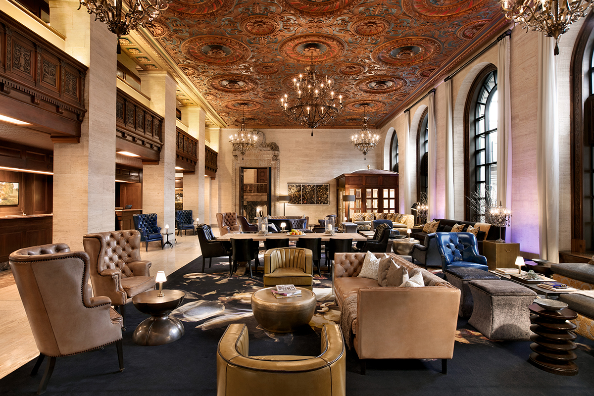 There is nothing more glamorous than the legendary  Hotel du Pont.