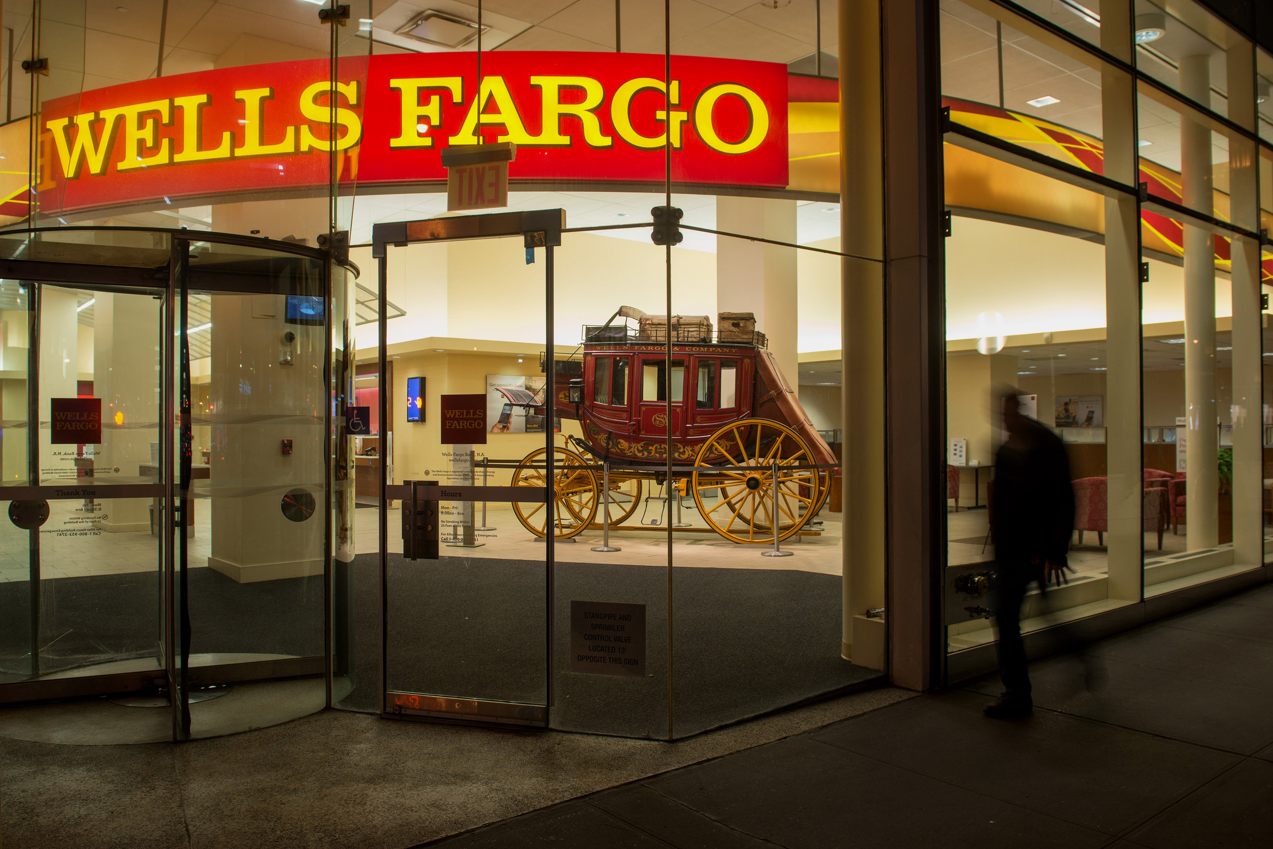 Wells Fargo & Company is an American multinational financial services company headquartered in San Francisco, California, with central offices throughout the United States. It is the world's fourth-largest bank by market capitalization and the third largest bank in the US by total assets.