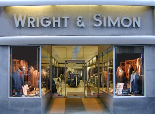 Dedicated gratefully and with joy to the men of Delaware and its neighbors, Wright & Simon has for over 84 years built an outstanding men's clothing store on the cornerstone of their principles: