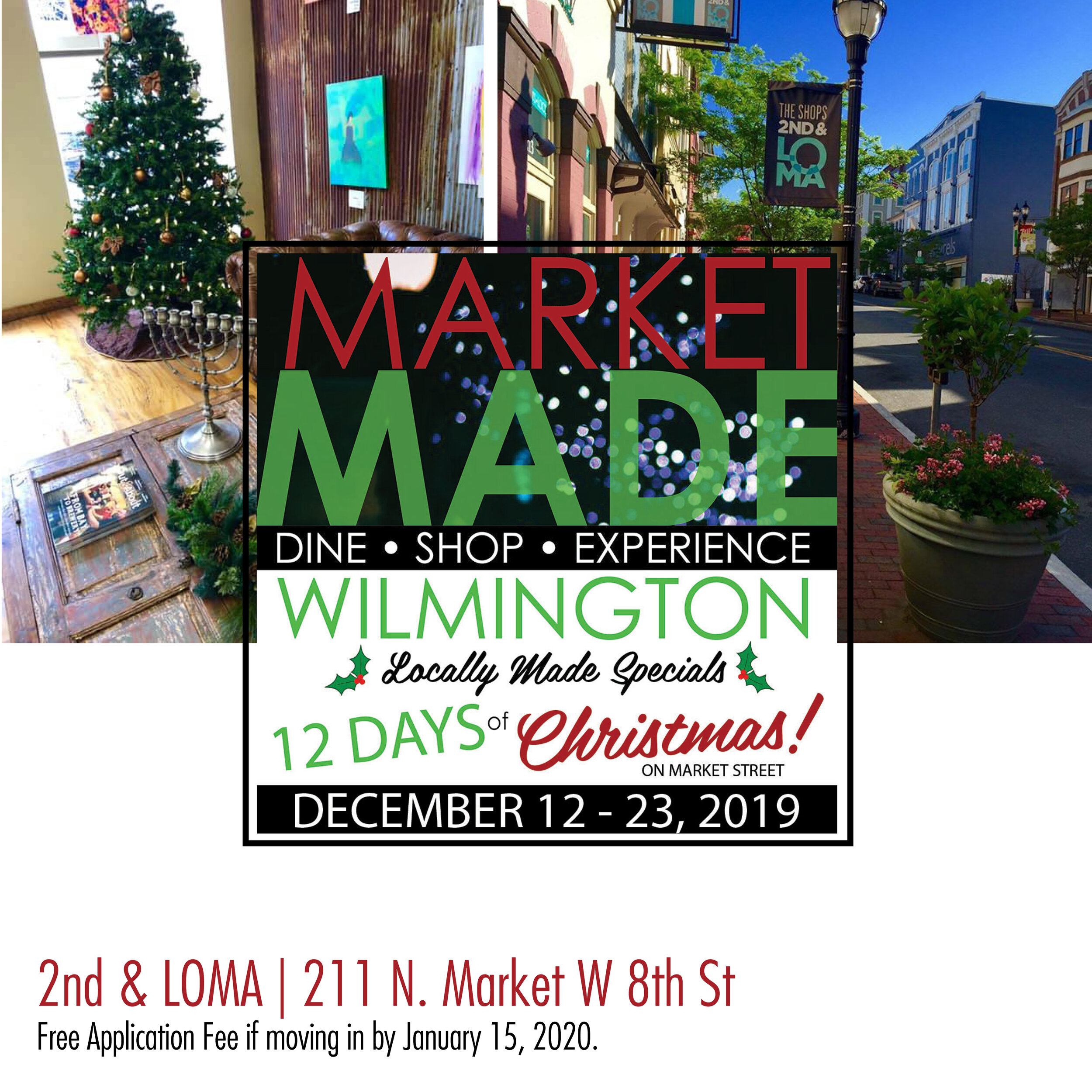 211 Christmas Help 2020 Market Made: 12 Days of Christmas Deals & Steals in Downtown