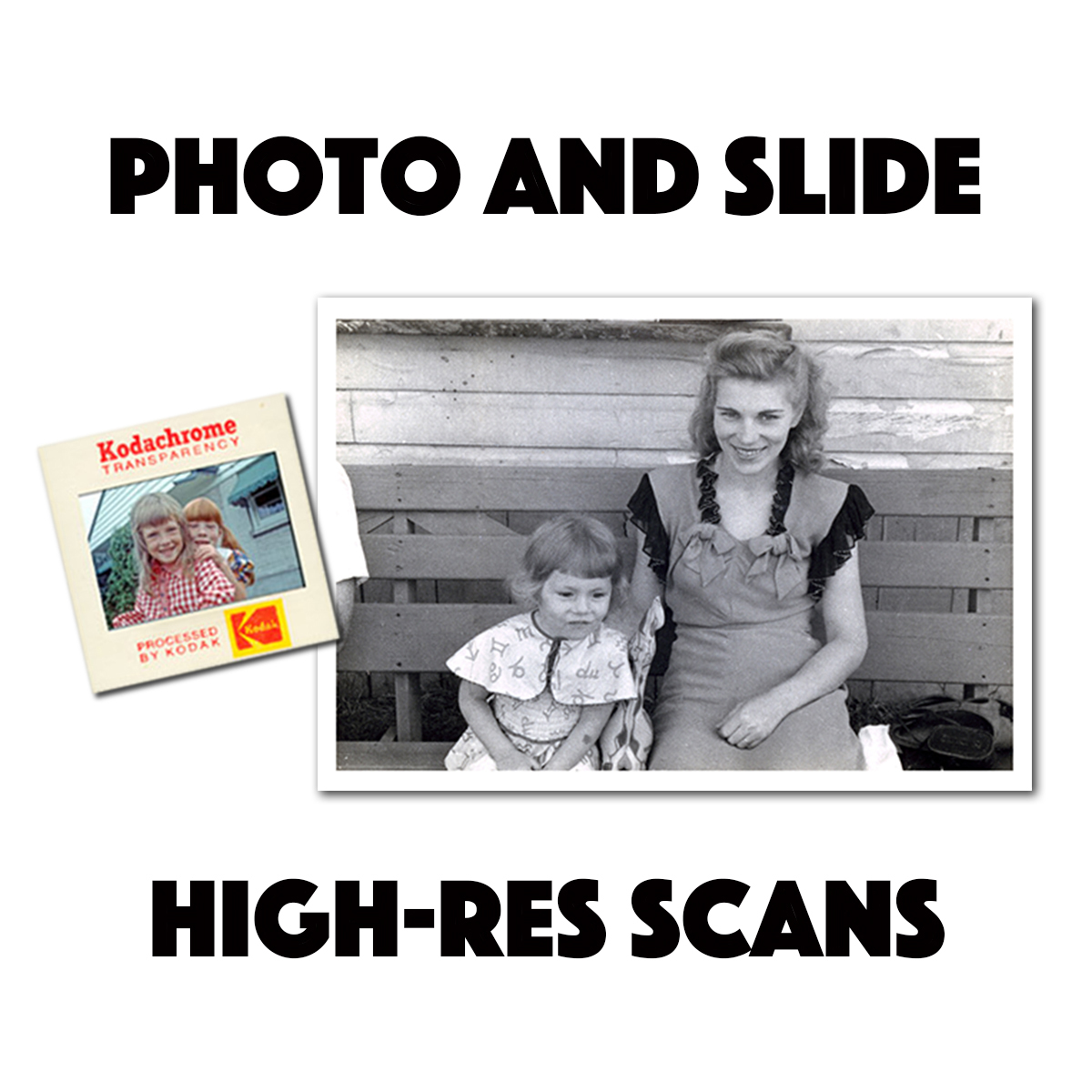 Preserve your prints and slides digitally