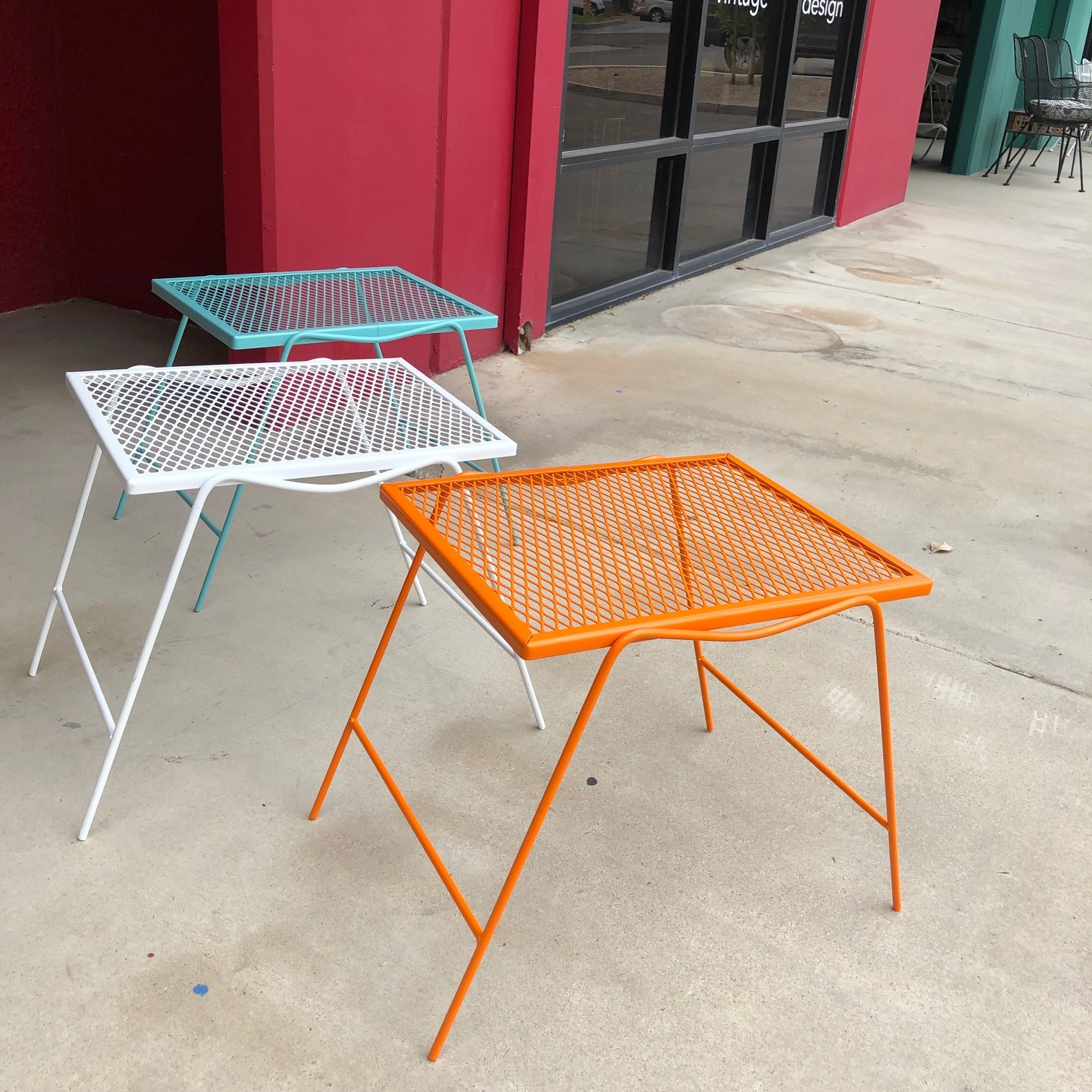Outdoor Metal Side Tables