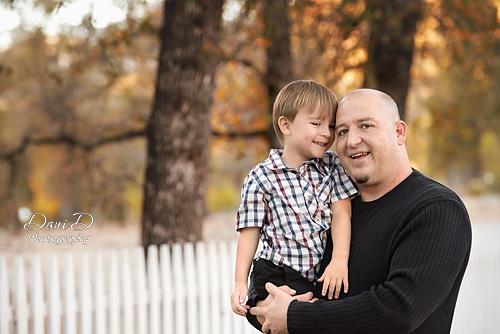 Father Son Portrait - Redding CA Photographer - Dani D Photography