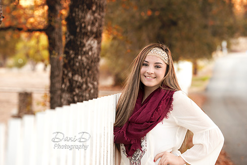 Teen girl outdoors - Redding CA Photographer - Dani D Photography