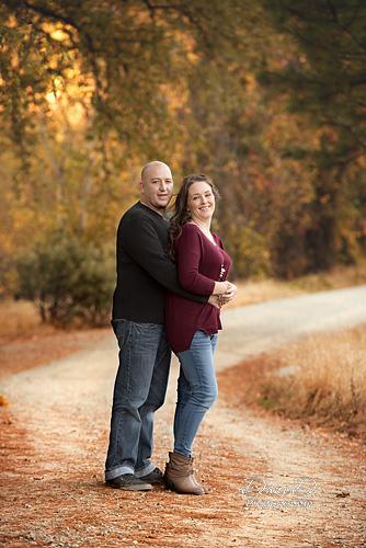 Couple hugging - Redding CA Photographer - Dani D Photography