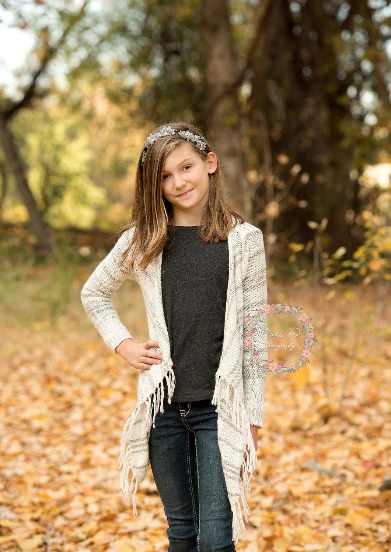 Redding CA Photographer Dani D Photography Fall Photos