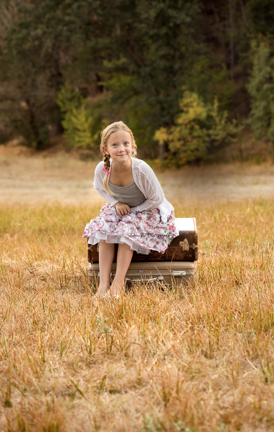 girl making silly face - Redding CA photographer - Dani D Photography