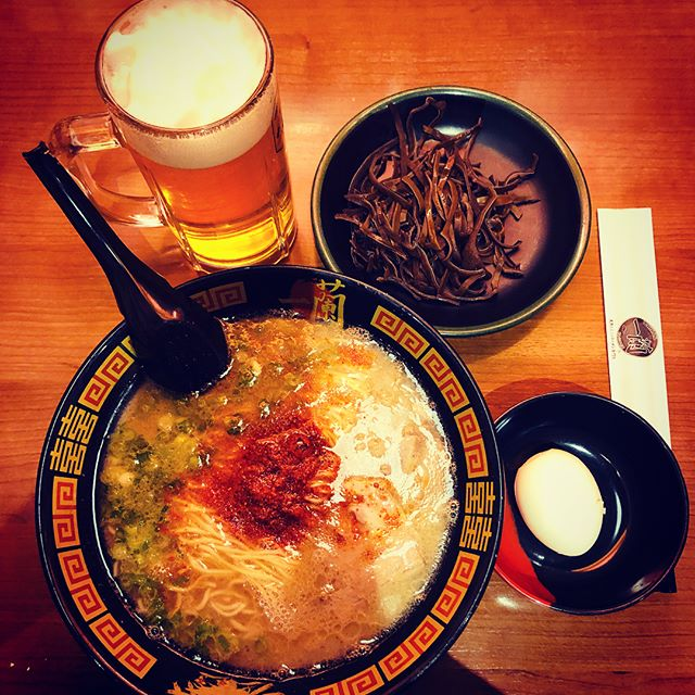 #ichiran #is simply good #ramen