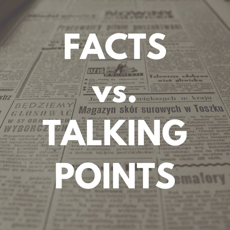 Before you take a stand, be knowledgeable of the issue so you can discuss it fully.