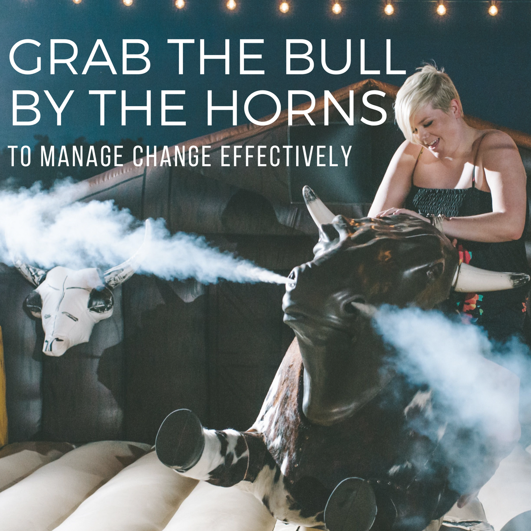 You can't control change in the workplace, but you can control how you respond. Your power as a young professional lies in how you manage your behavior during change events.  Photo Credit