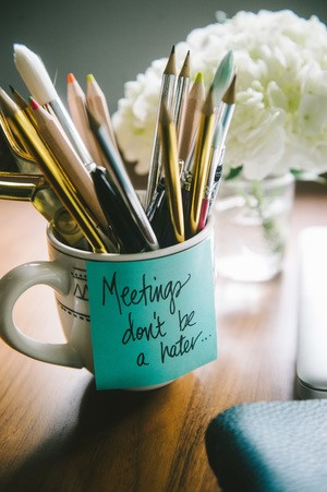 Think of meetings as scheduled opportunities to learn, network and build relationships. Meetings are where it's happening. Use them to your advantage.  Photo Credit