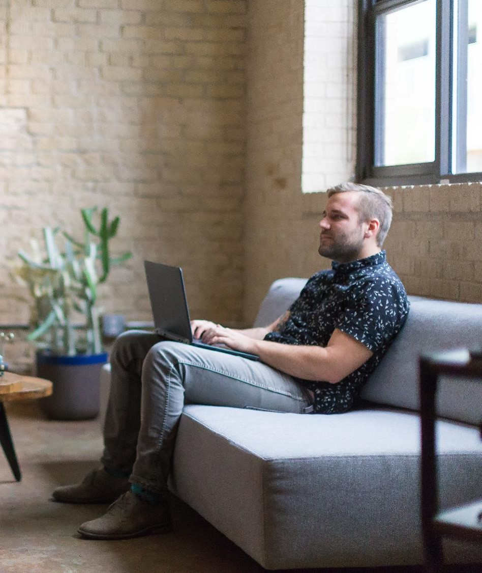 If you are like many work from home professionals your productivity and performance may be higher than those that work on-site. Bit. you may be working more hours. Image: Lacey Seymour Photography