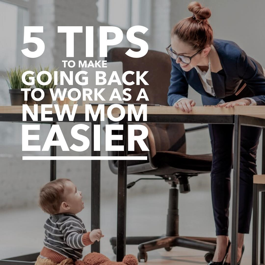 Going back to work is never easy after family or maternity leave comes to an end. Approach your return strategically to ensure a smooth transition. Photo: Pexels