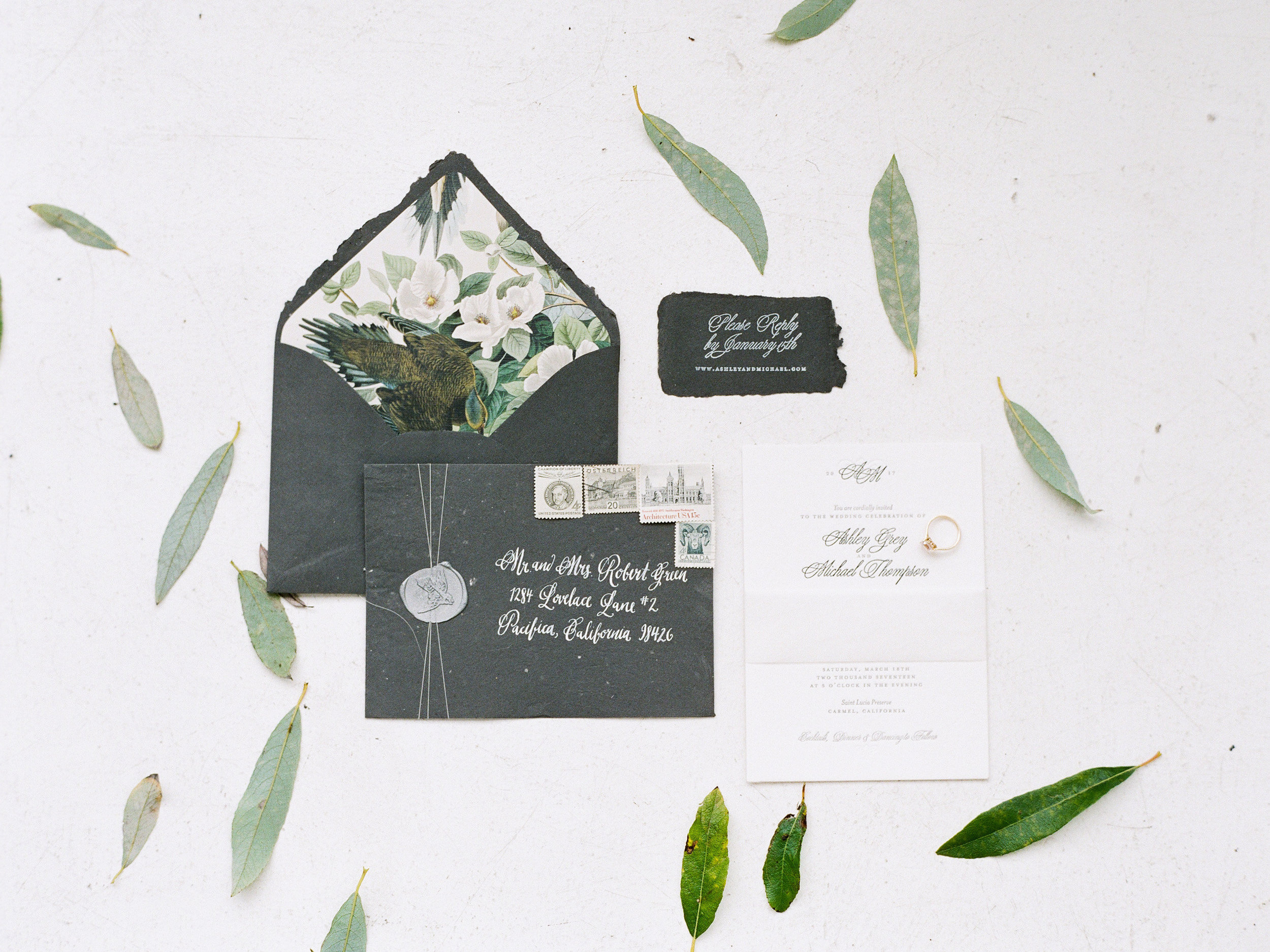Invitation Suite by Bowerbird Atelier | Photo by Sorella Muse