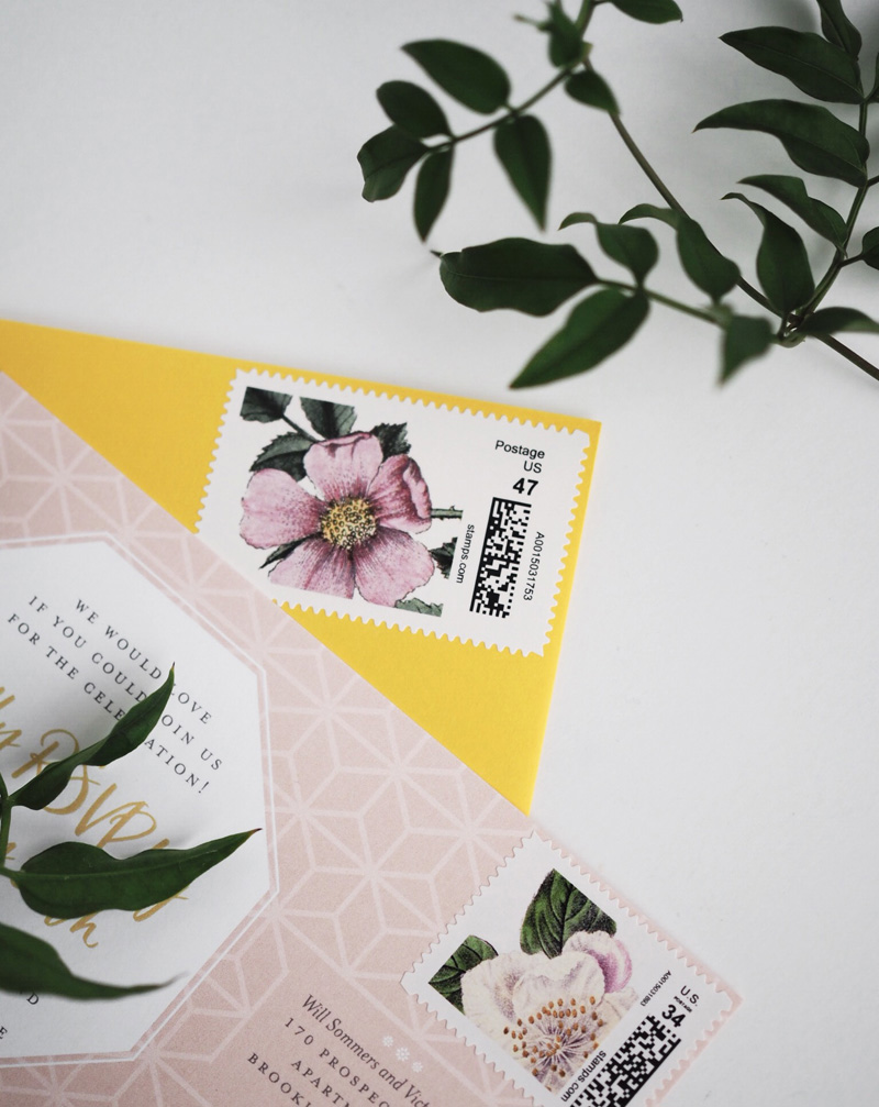Custom Postage by Bowerbird Atelier