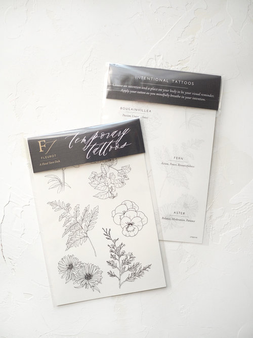 Fleurot Temporary Tattoos