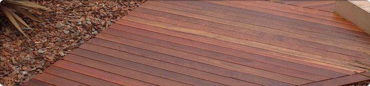 Red Ironbark Decking Example