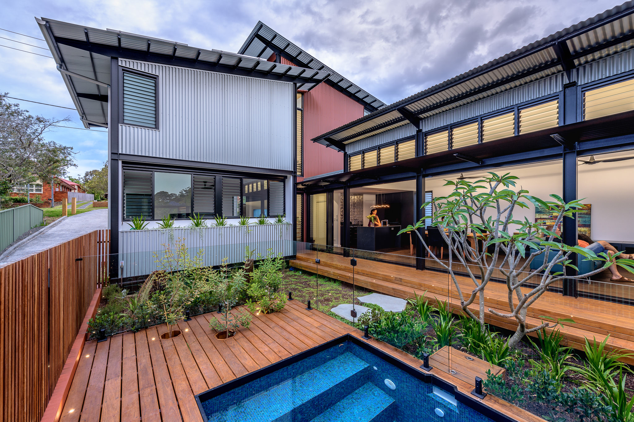 Tin Shed House Ironbark Architecture