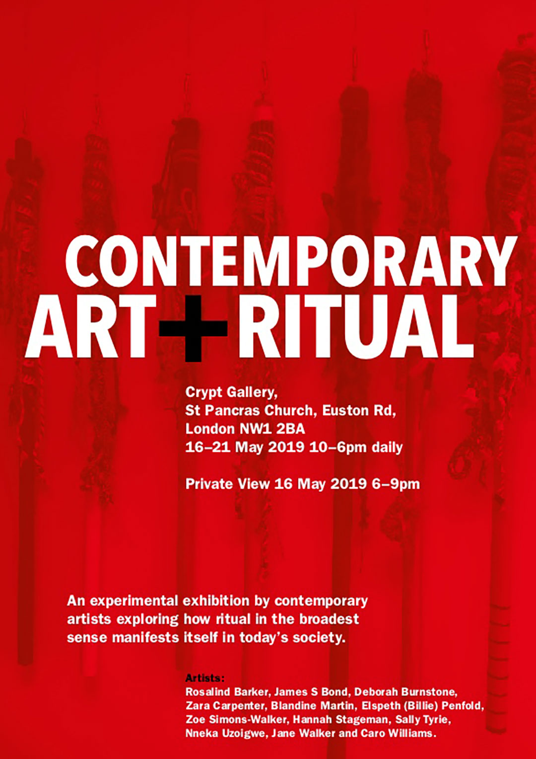 Artists : Rosalind Barker, James S Bond, Deborah Burnstone, Zara Carpenter, Blandine Martin, Elspeth (Billie) Penfold, Zoe Simons-Walker, Hannah Stageman, Sally Tyrie, Nneka Uzoigwe, Jane Walker and Caro Williams   More info