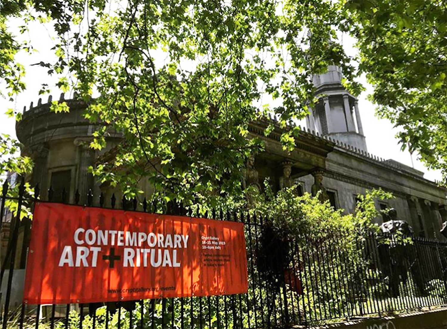 Contemporary Art and Ritual , Crypt Gallery, London NW1 2BA 16-21 May 2019 Opens daily 10am-6pm, Free admission   https://artandritual.wixsite.com/mysite