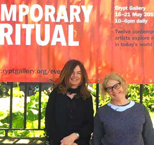 Contemporary Art + Ritual curators Caro Williams and Deborah Burnstone