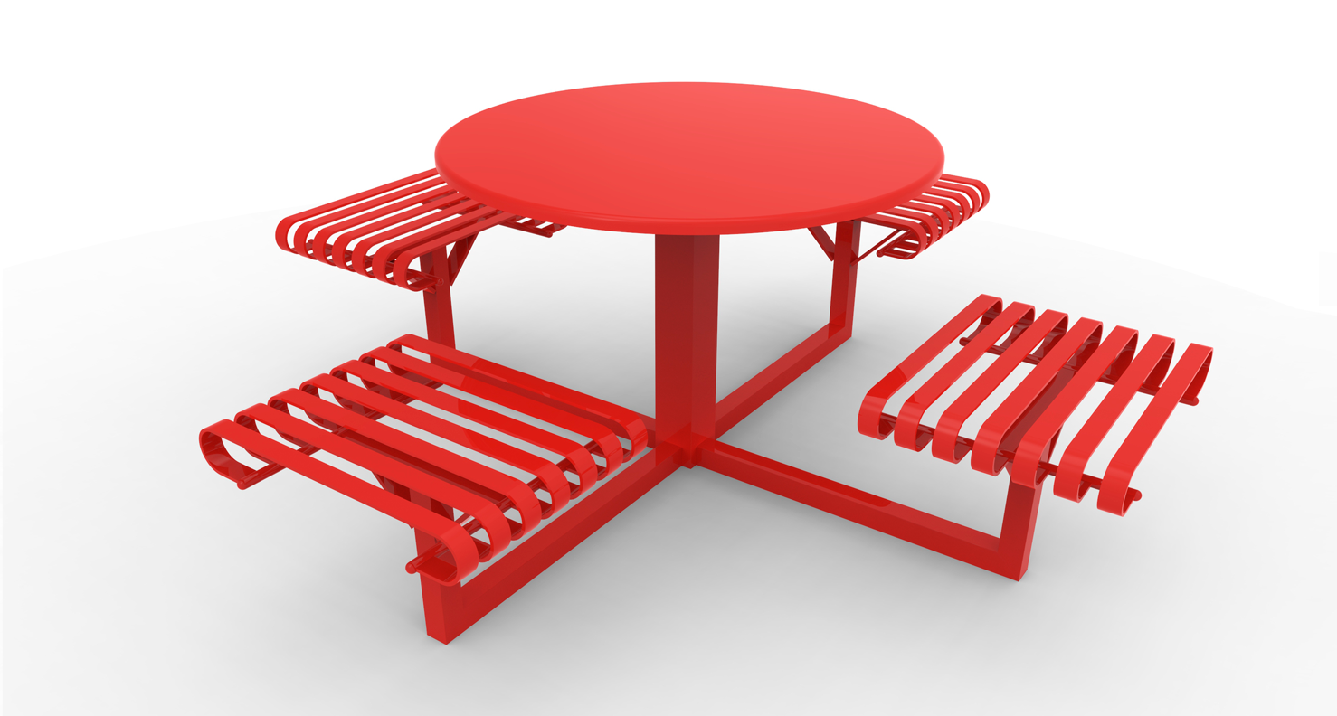 The paulina table and Chairs