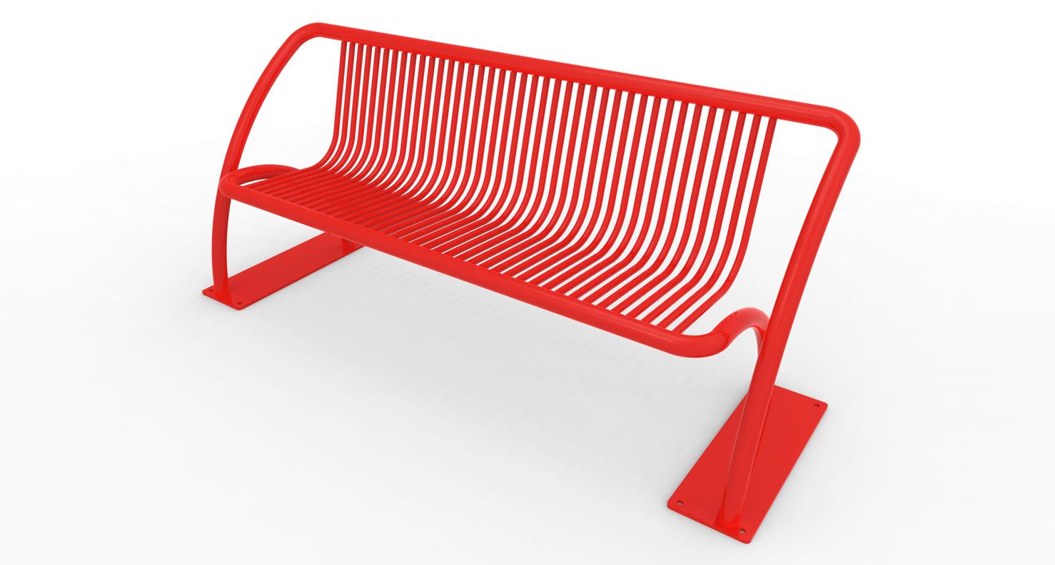 The hopscotch bench