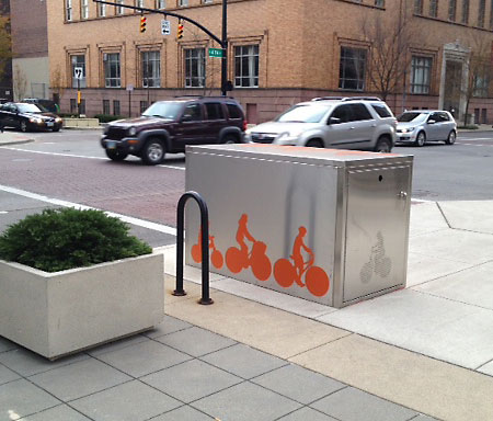 Specialty perforated Bike Vaults in Ohio