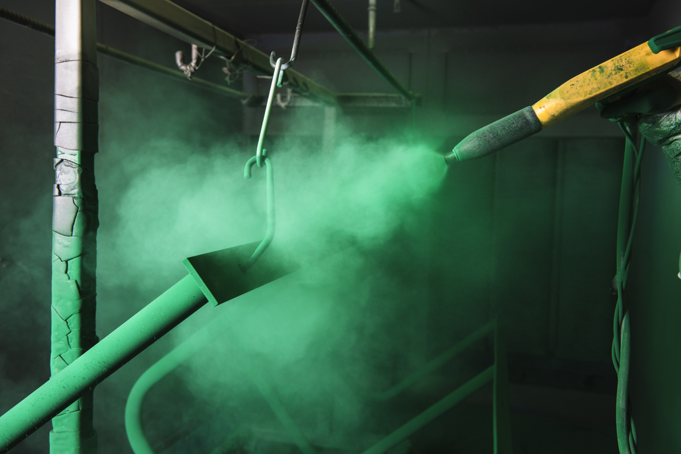 Powder Coating - View Process Gallery