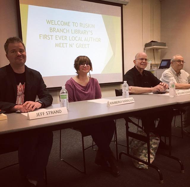 Ruskin, FL, Local Author Meet & Greet - Feb. 10th, 2017