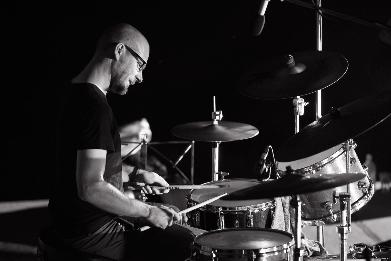 Bojan Krhlanko - independent drummer & composer, combining wide range of music expression