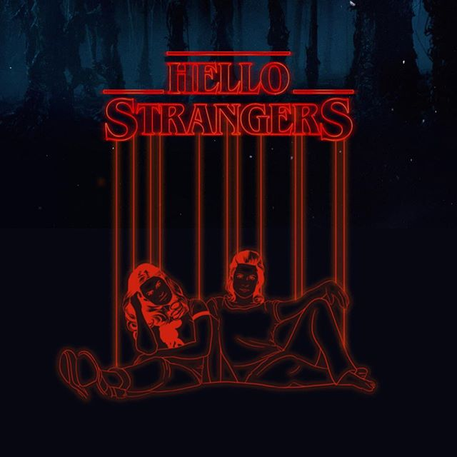 We are officially on break for maternity leave. Thanks to you all for your love and support over the years so far! Now, in celebration of the announcement of Season 2 of one of our fav shows #Netflix #strangerthings, we invite you to stay tuned for The Hello Strangers Season 2, also coming in 2017! #americana #music #sisterharmonies