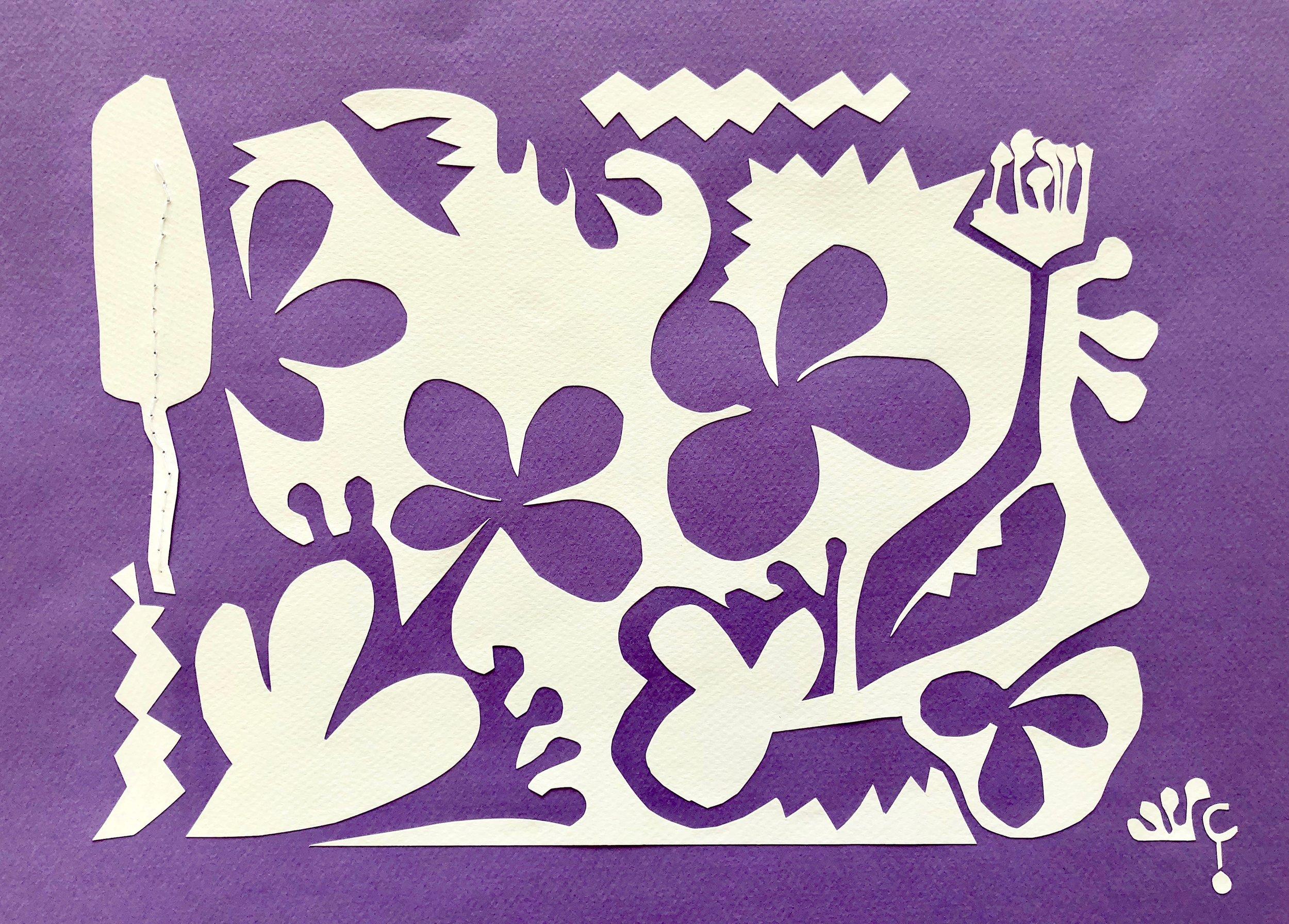 culpepper_purple_paper + cotton thread collage_10x14.jpg