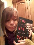 Lots of people take pictures of themselves in the kitchen with good books, right?
