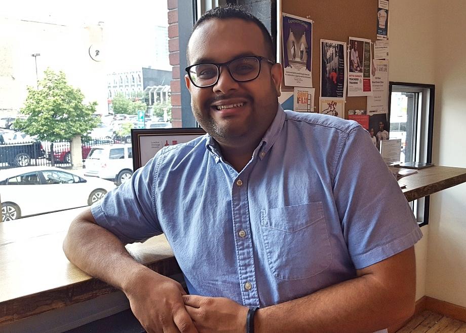 Sameer Vasta - photo credit Sean Meyer.