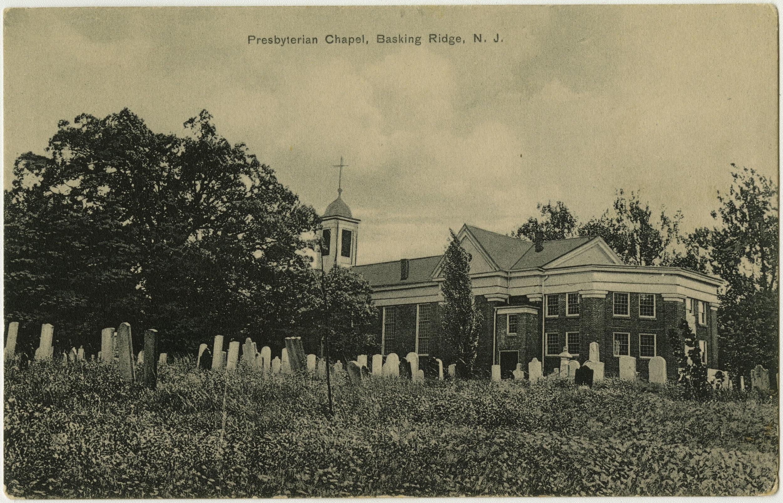 The oak tree circa 1923. (Photo:  Presbyterian Historical Society /Wikimedia Commons)