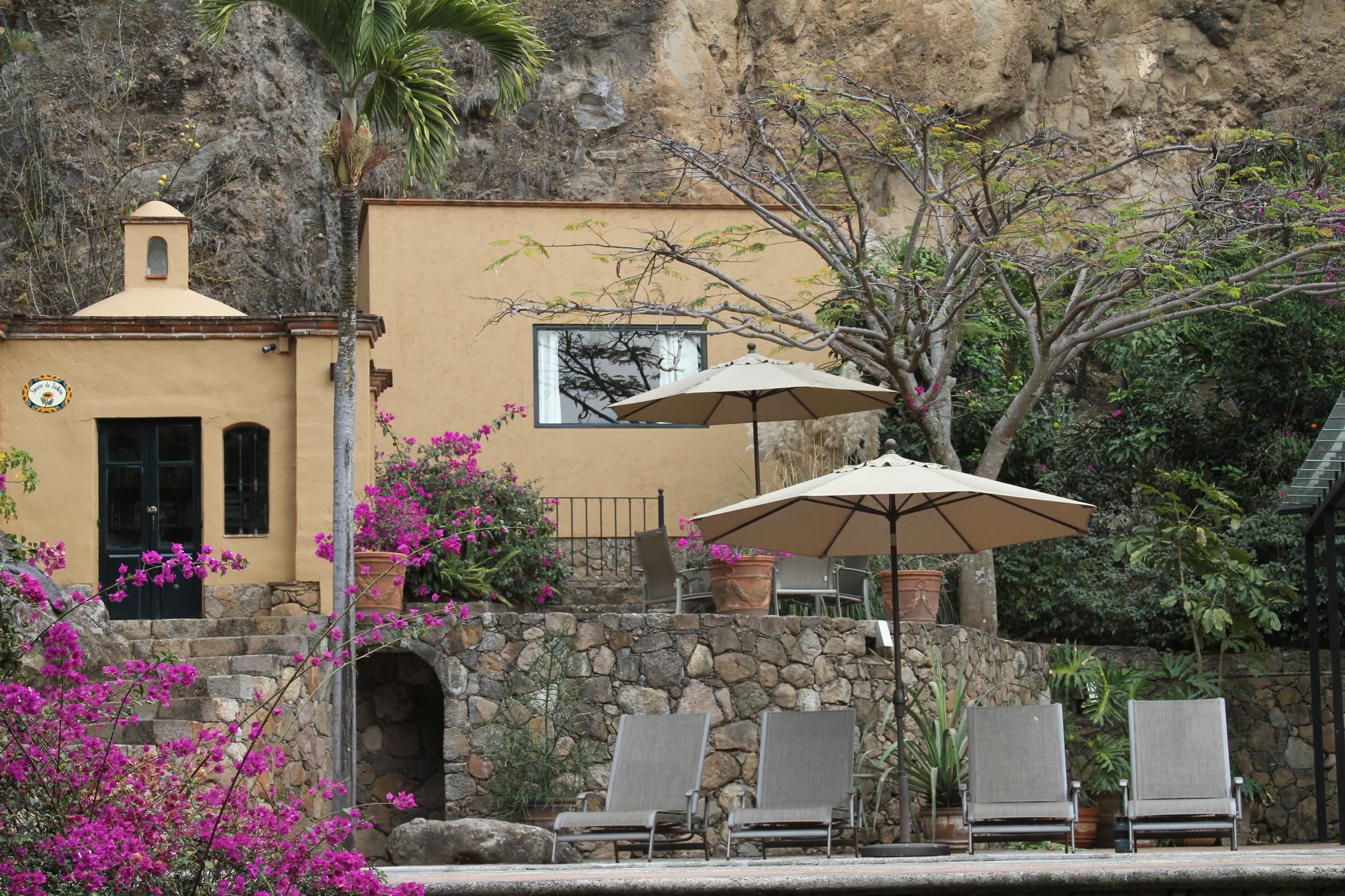 Hotel in Malinalco Mexico
