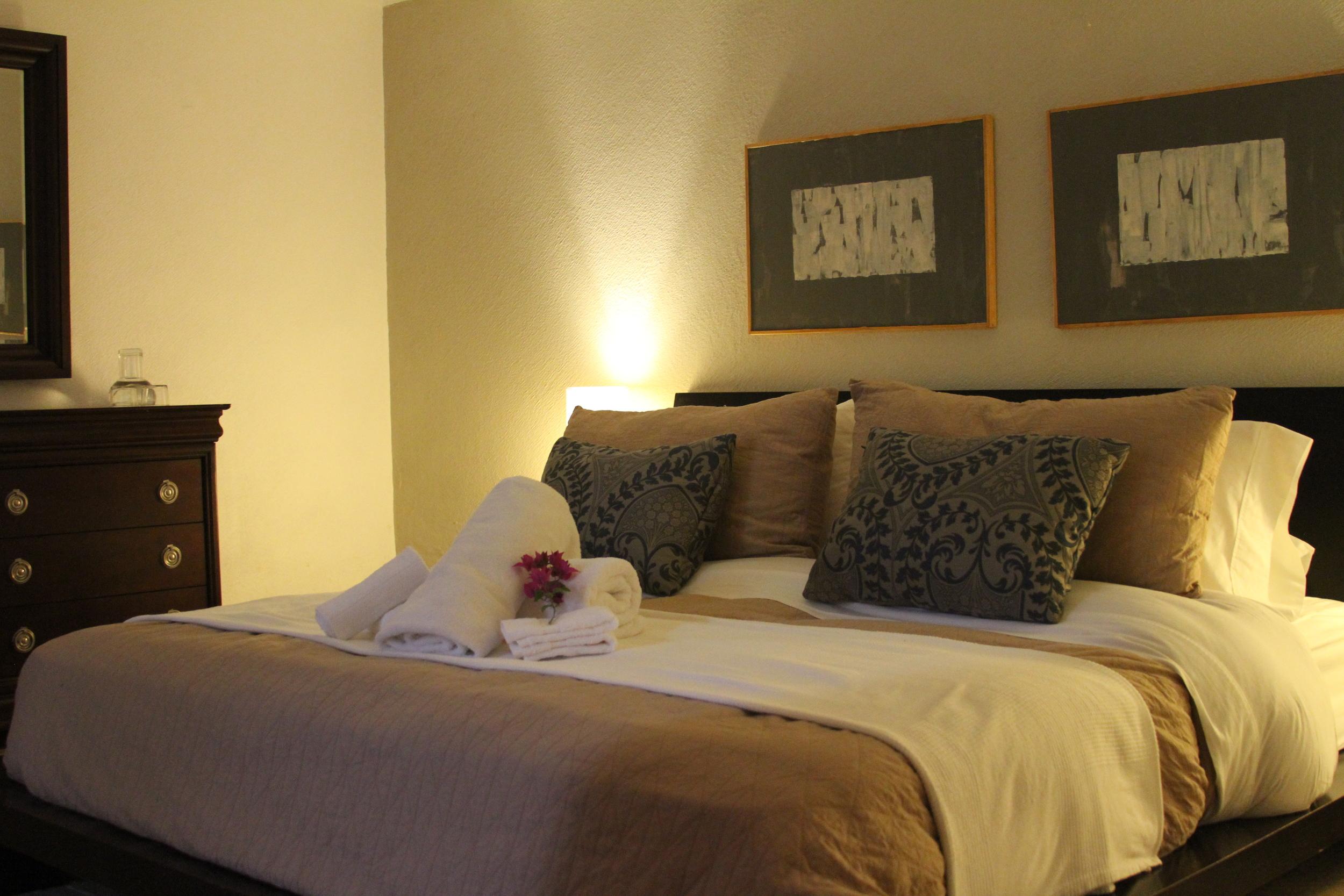 Room at Casa Alamillo, Malinalco