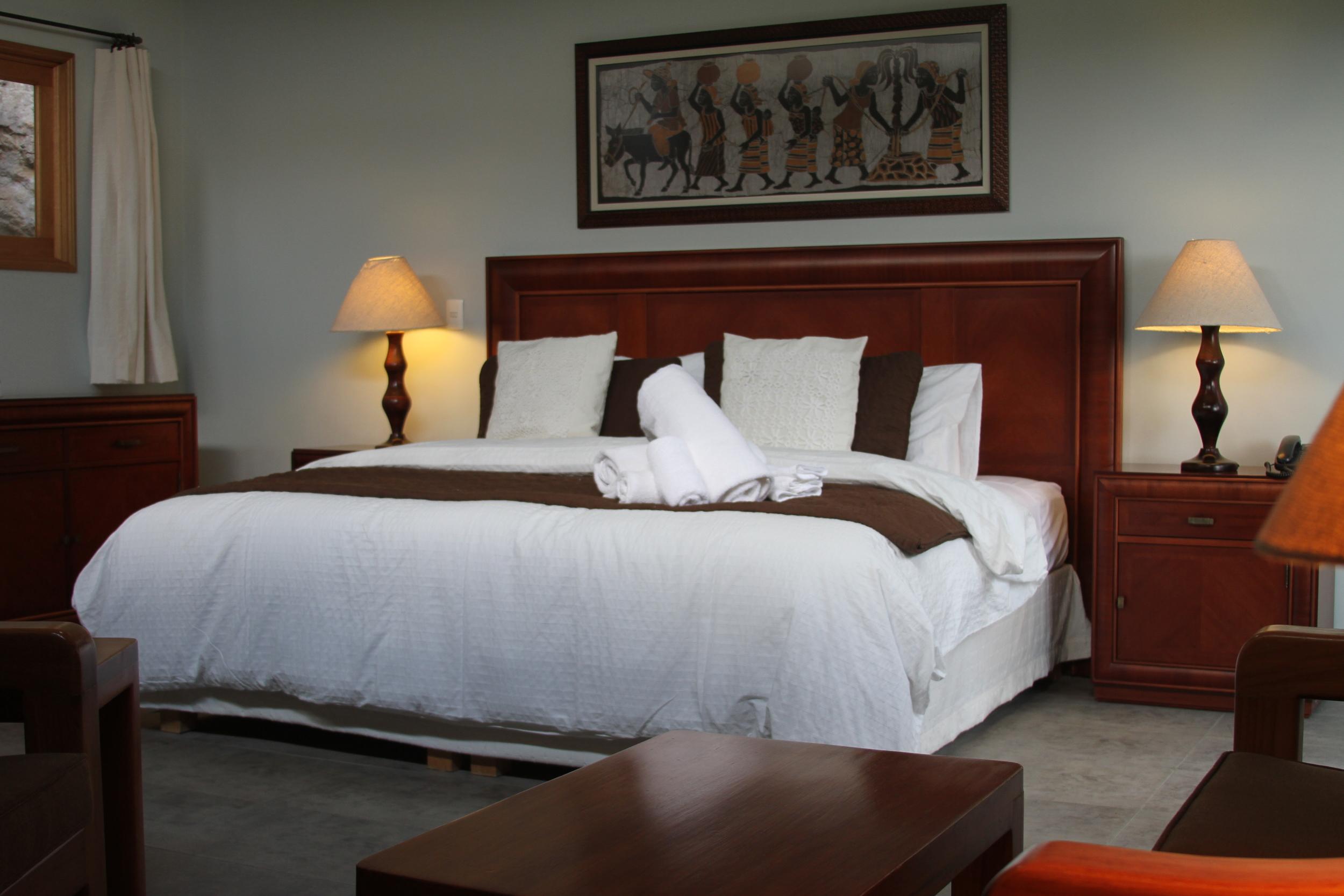 Jade Hotel Room in Malinalco, Mexico