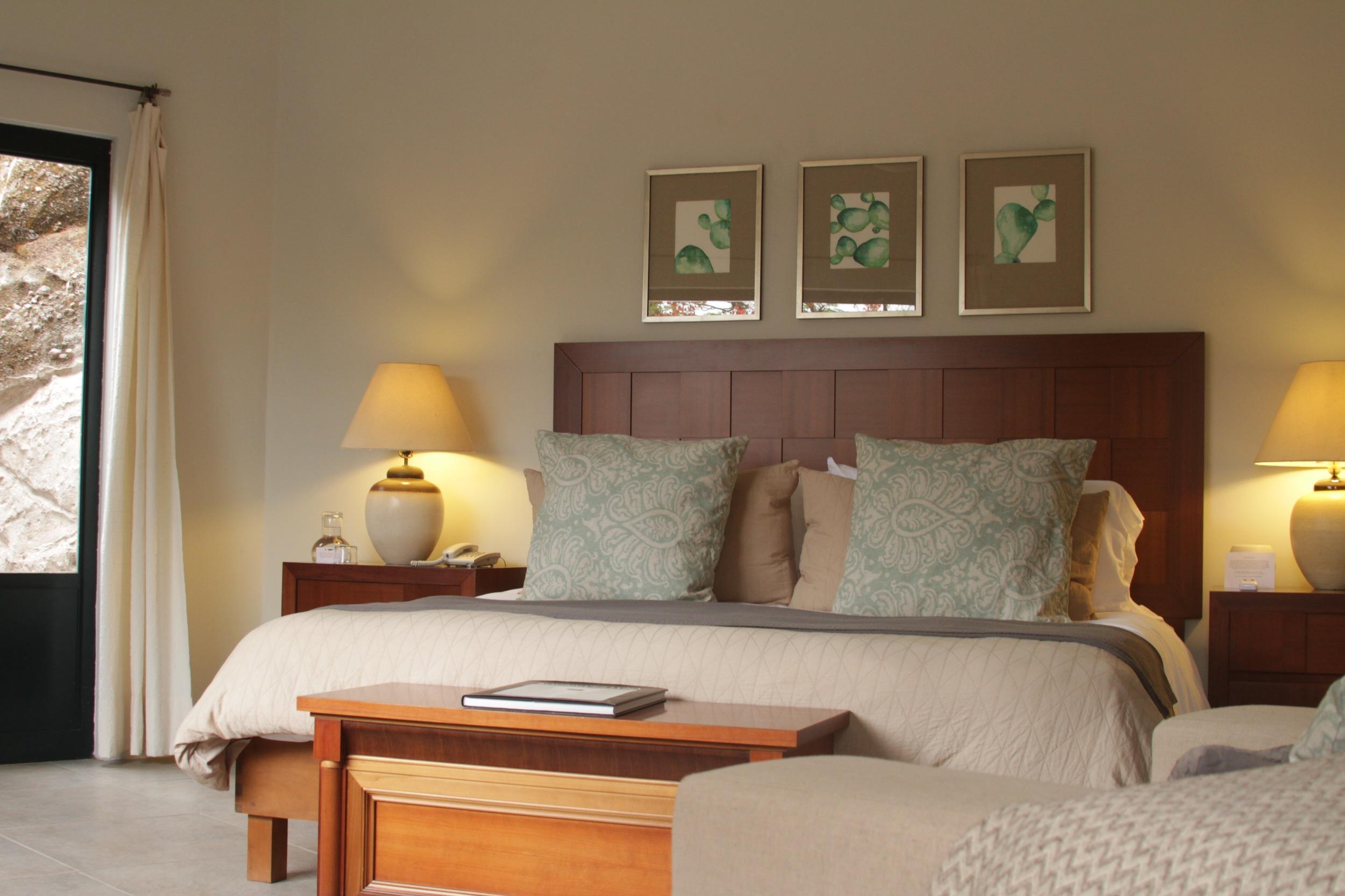 Topacio Room at Hotel in Malinalco, Mexico