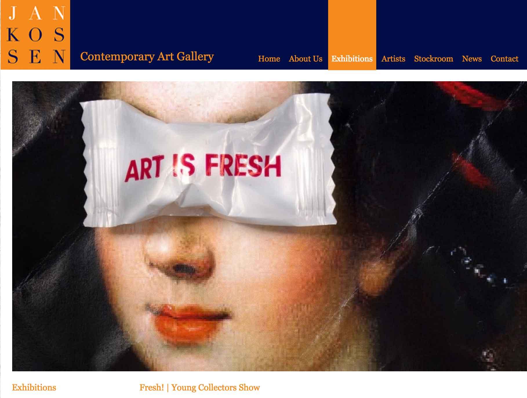 Fresh! Jankossen Gallery - July 16